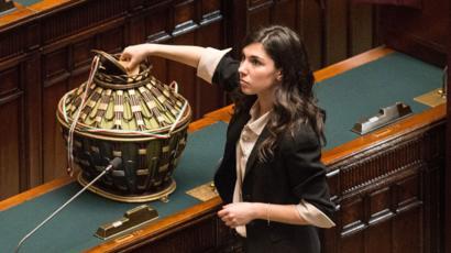 Giulia Sarti MP, 15 Mar 13