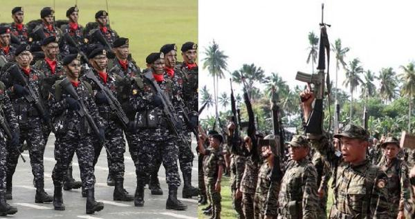 Philippine Army Scout Ranger and Moro Islamic Liberation Front