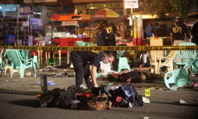 Actual Footage Davao City Bombing at Roxas Night Market